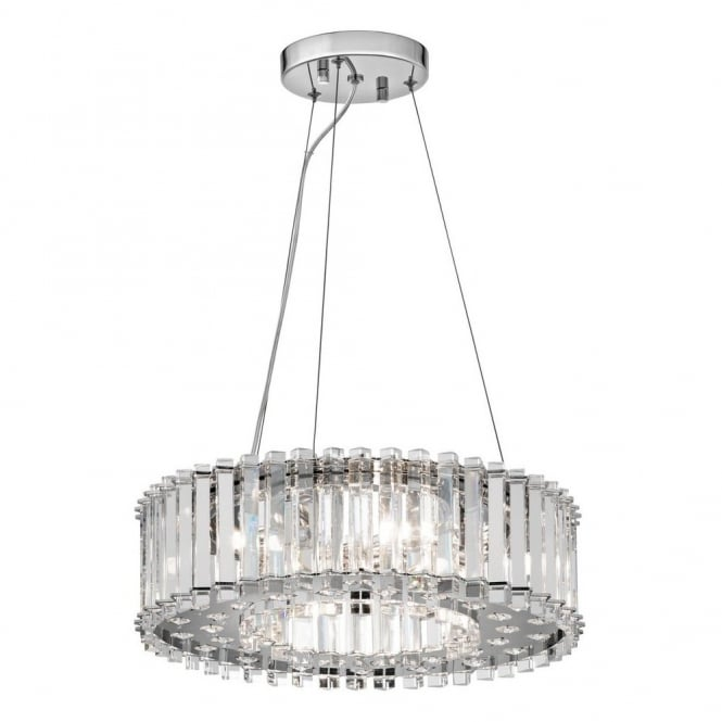 New York Lighting Collection CRYSTAL SKYE decorative modern crystal 6lt ceiling pendant
