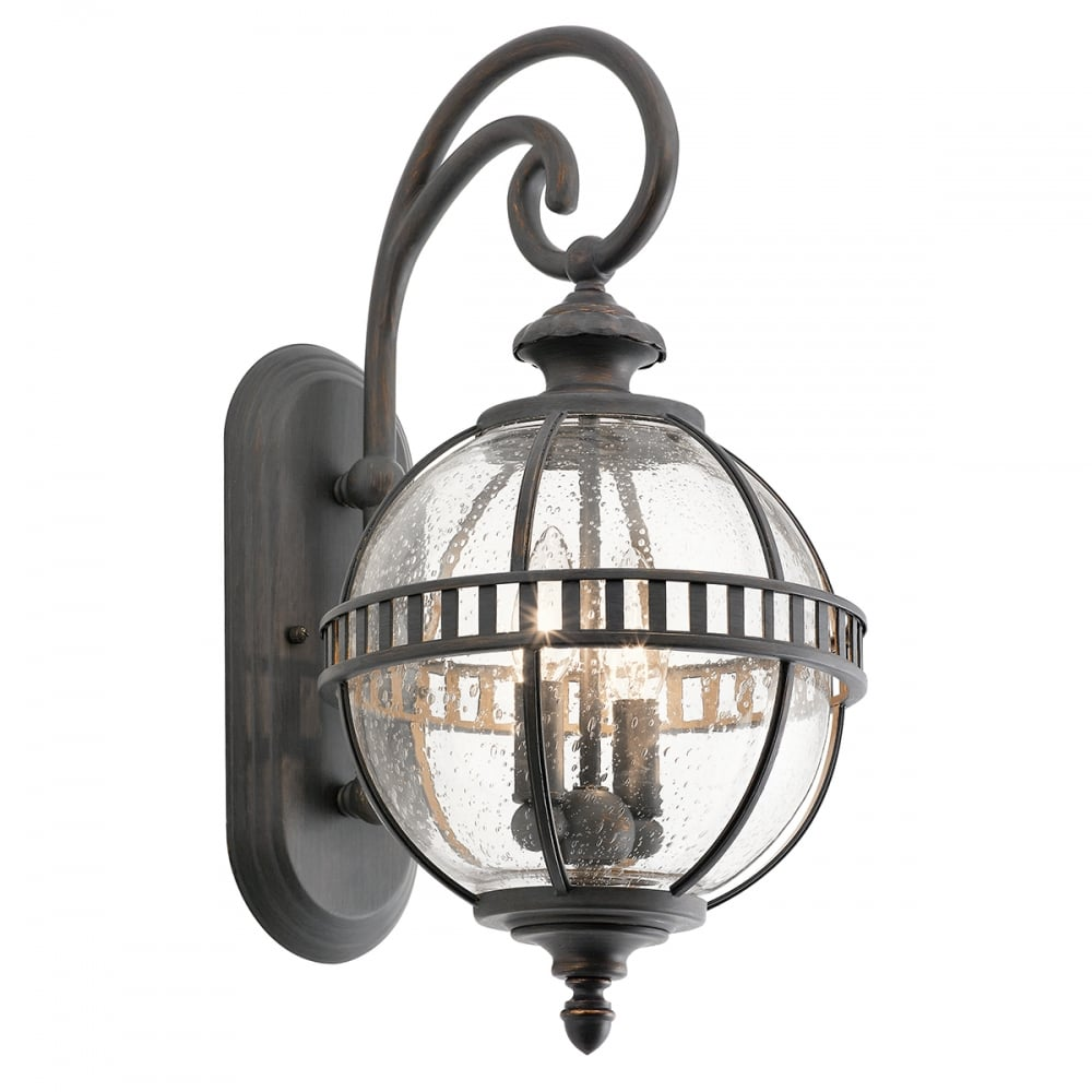 Outdoor Lighting Companies: Victorian Small Globe Style Exterior Lantern In