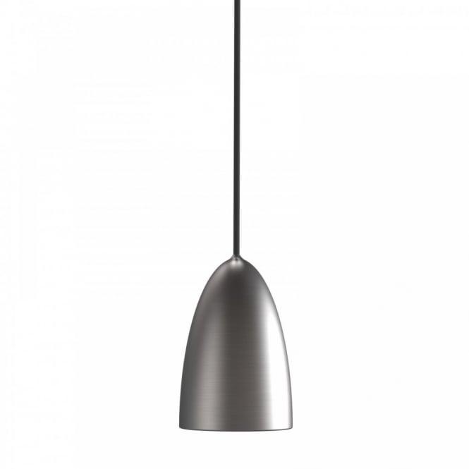 NEXUS 10 pendant light (brushed steel)