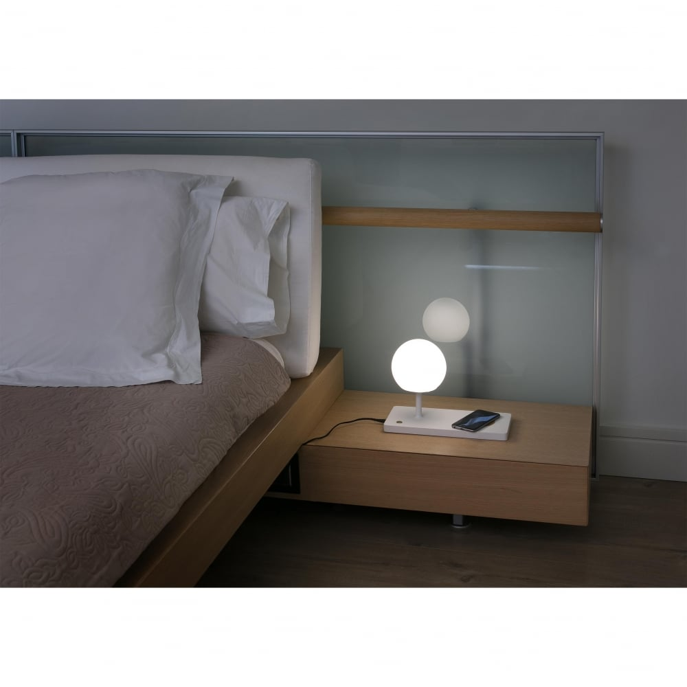 Modern LED Table Lamp With Phone Charger
