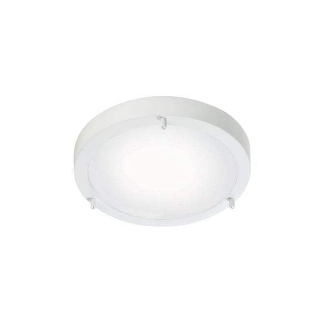 Modern Flush Fit White Led Bathroom Ceiling Light Ip44