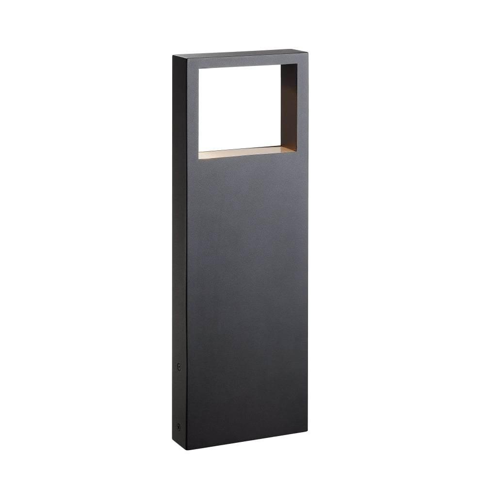 Led Contemporary Squared Outdoor Bollard Light