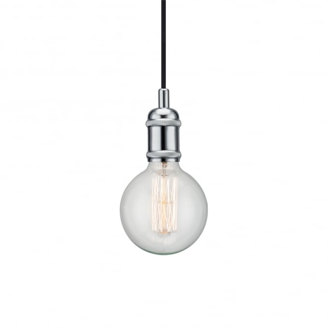 Nordlux AVRA decorative pendant suspension in polished chrome
