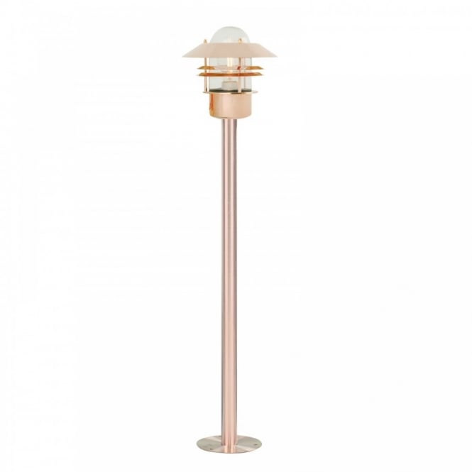 BLOKHUS copper garden floor lamp