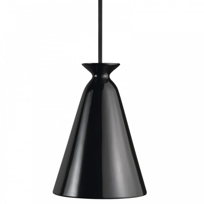 Nordlux CURVE modern ceiling pendant in black finish