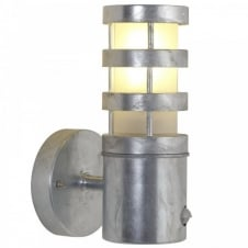 DARWIN SENSOR garden wall light (galvanized)