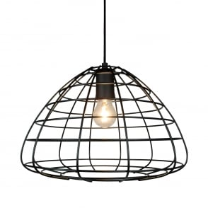 Modern large wire frame globe pendant in black black wire frame ceiling pendant light keyboard keysfo Choice Image
