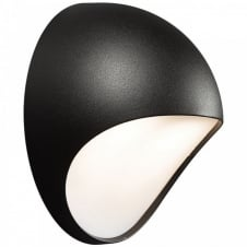 FUEL LED garden wall light (black)