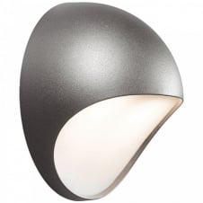 FUEL LED garden wall light (grey)