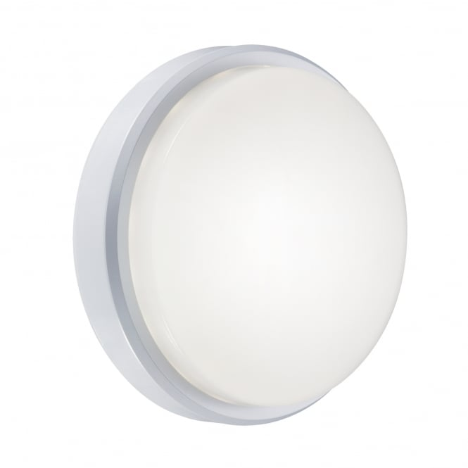 Nordlux GILA opal white LED bathroom ceiling/wall light