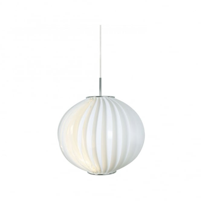 Nordlux LEMON modern circular white ceiling pendant light