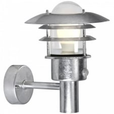 LONSTRUP 22 sensor garden wall light (galvanized)
