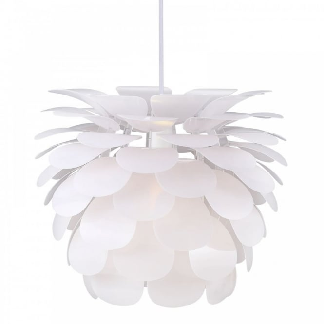 Nordlux MOTION 50 decorative white ceiling pendant (large)