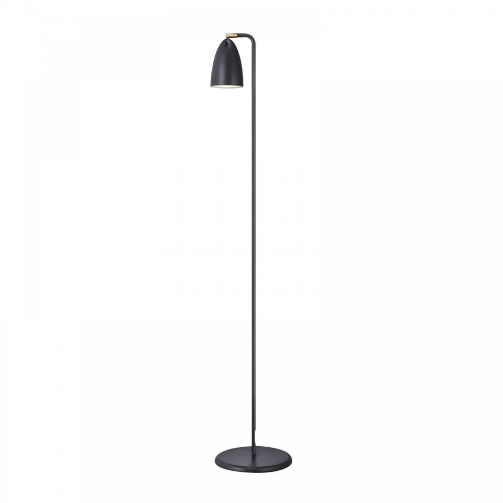 led floor lamp with adjustable shade of 90 degrees