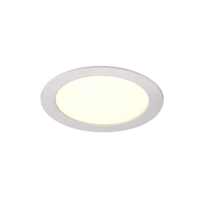 White Recessed LED Bathroom Ceiling Light
