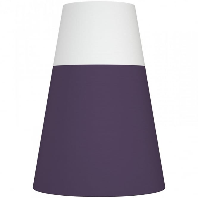 Nordlux RESPECT 22 white and purple textile shade (part of a set)