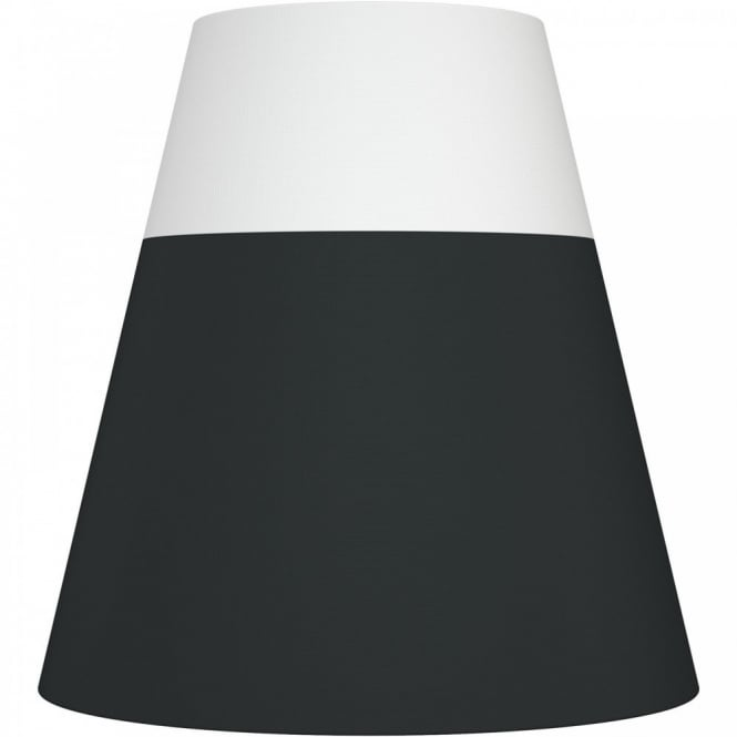 Nordlux RESPECT 30 white and black textile shade (part of a set)