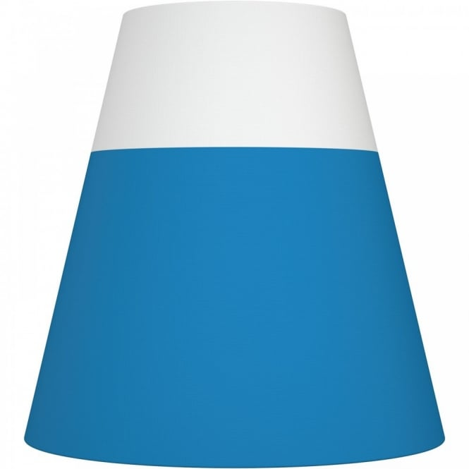 Nordlux RESPECT 30 white and blue textile shade (part of a set)