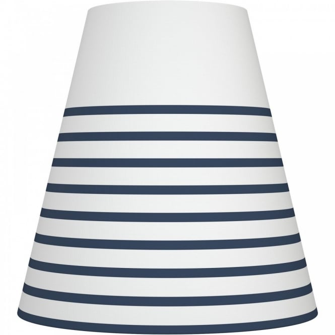 Nordlux RESPECT 30 white and denim textile shade (part of a set)