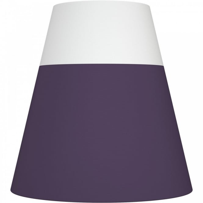 Nordlux RESPECT 30 white and purple textile shade (part of a set)