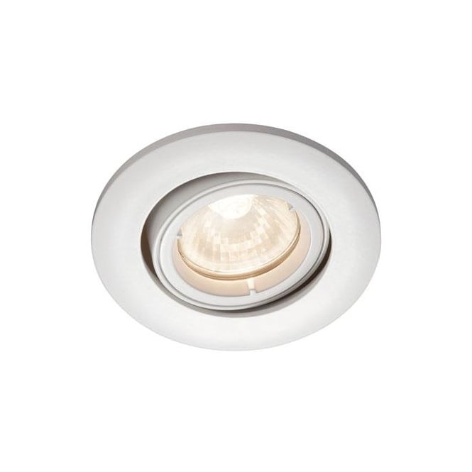 SAFE 23 tiltable white recessed spot light