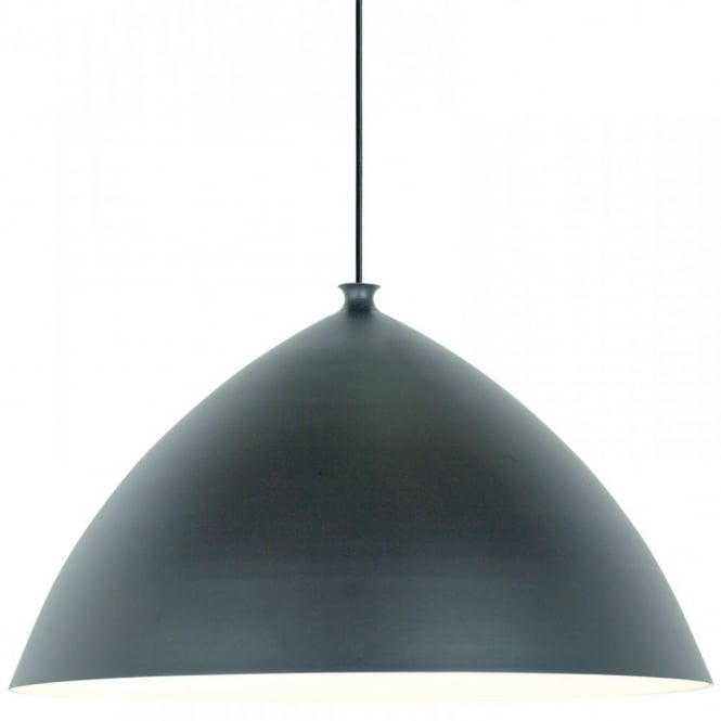 Nordlux SLOPE 50 ceiling pendant (black outer/white inner)