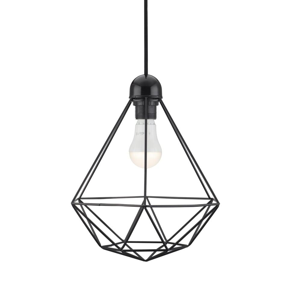 Pendant lights pendant lighting for ceilings the lighting company black frame ceiling pendant light aloadofball Images