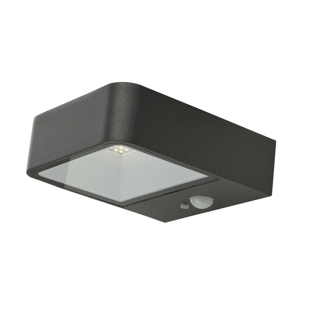 Noxolo Outdoor Solar Wall Light Ip65 The Lighting Company