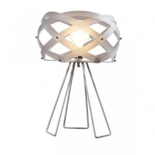 NUCLEA Italian design modern white table lamp
