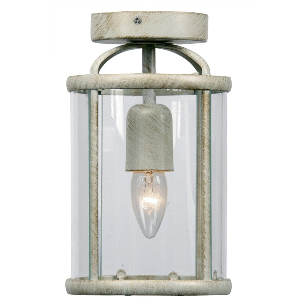 Where To Buy Ceiling Lights: Buy Small Flush Ceiling Lantern Suitable For Low Ceilings