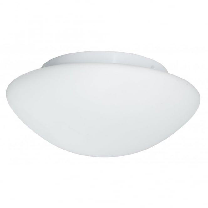opal dome large flush bathroom ceiling light