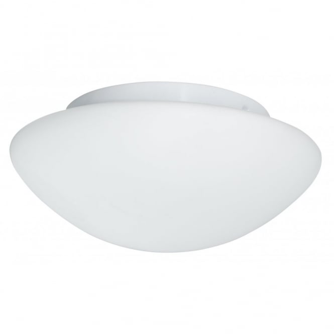Opal dome small flush bathroom ceiling light