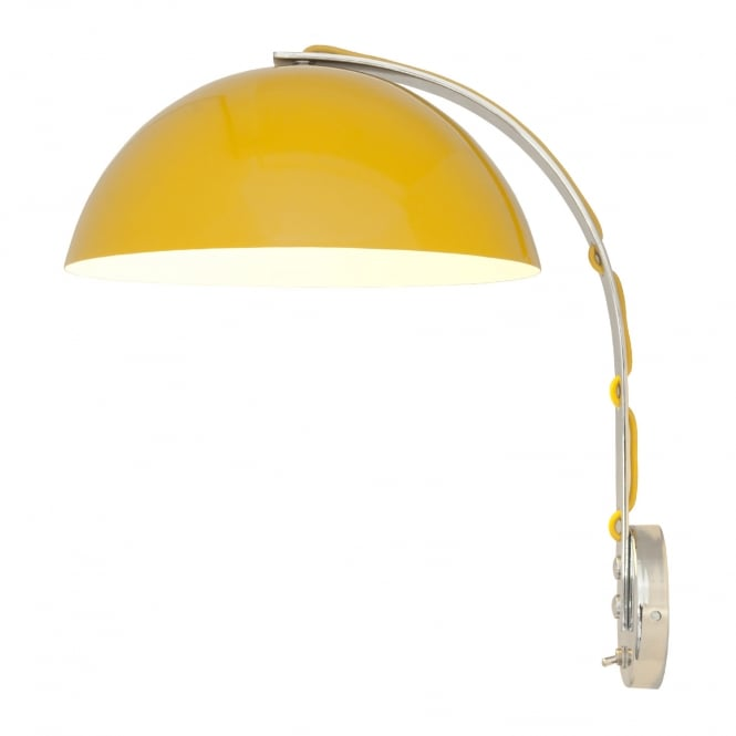 Original BTC LONDON Wall Light, Yellow