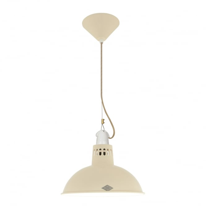 PAXO Pendant Light, Cream