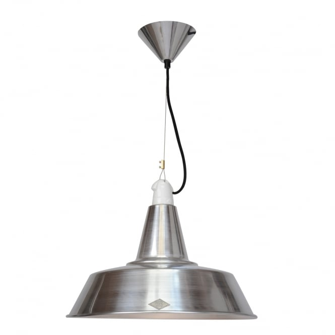 Original BTC QUAY Pendant Light, Aluminium