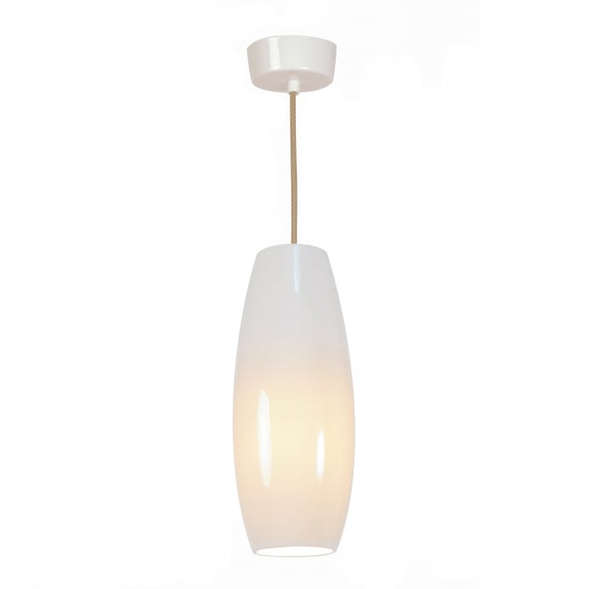 SIDNEY Small Pendant Light, Natural