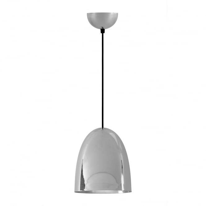 STANLEY Medium Pendant Light, Polished Nickel Plated