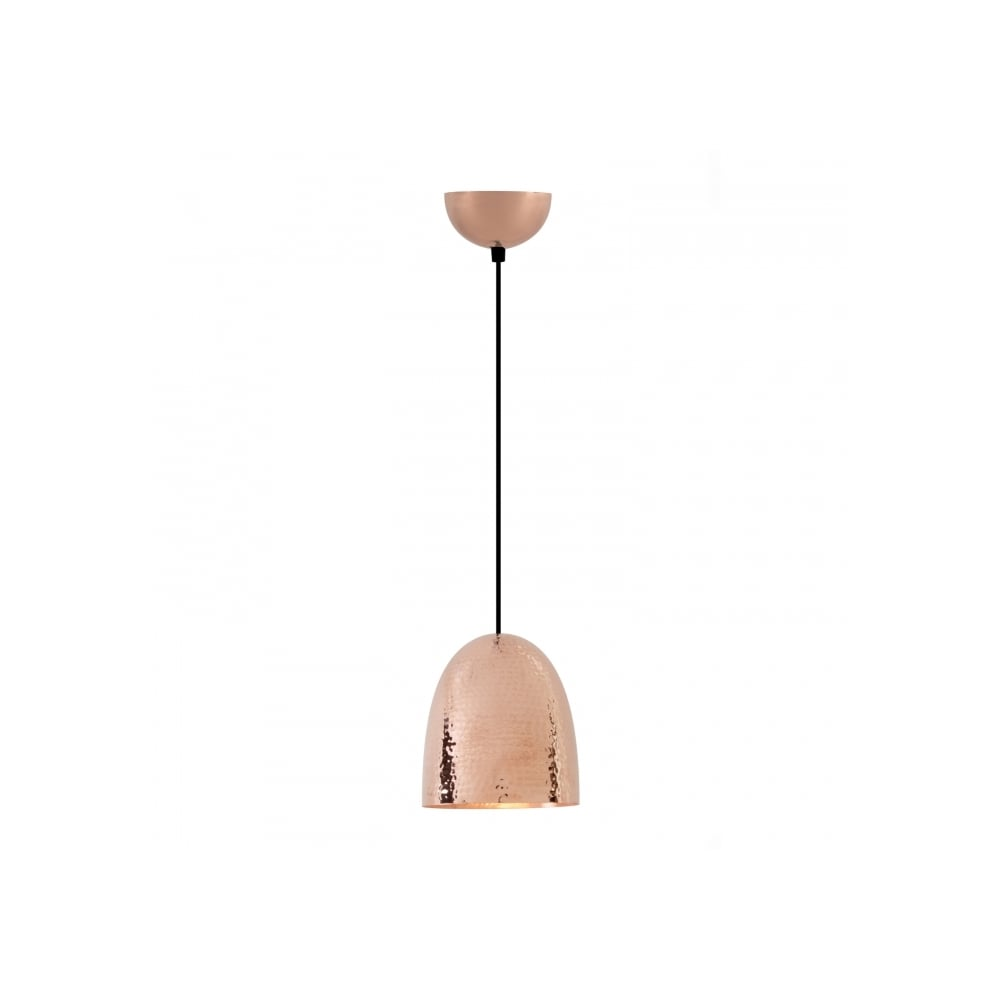 Stanley small pendant light hammered copper stanley small pendant light hammered copper mozeypictures Images