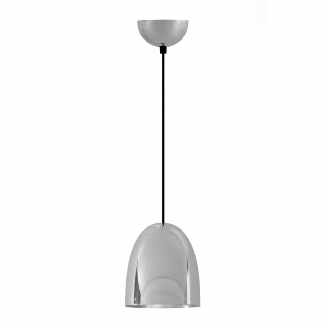 STANLEY Small Pendant Light, Polished Nickel Plated