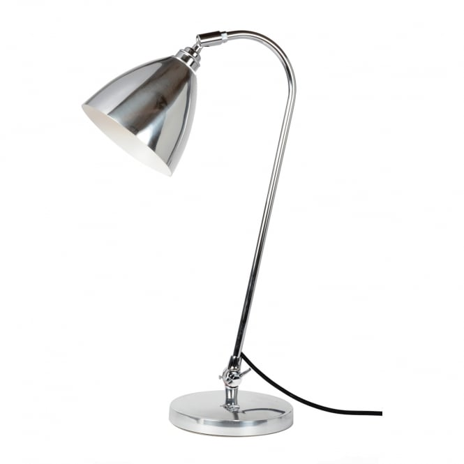 TASK Solo Table Light, Polished Aluminium