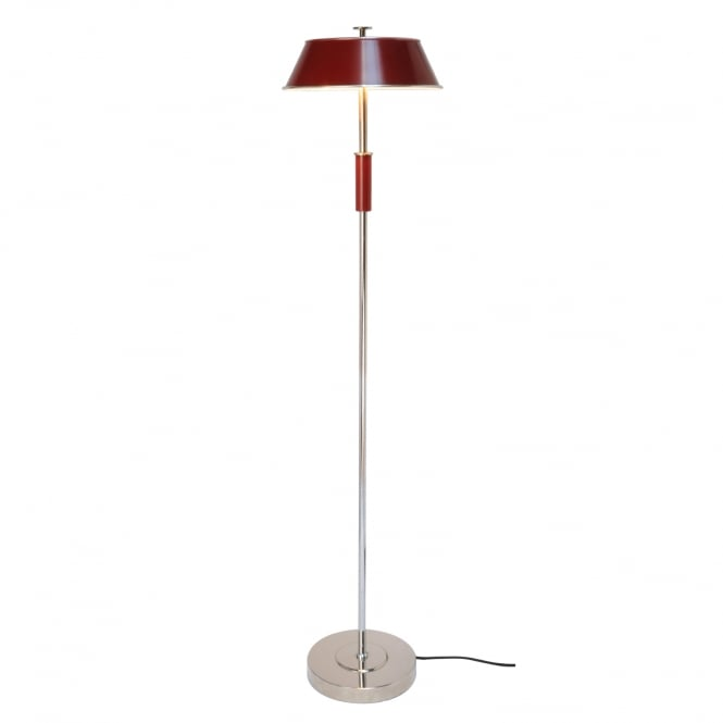 VICTOR Floor Light, Burgundy Red