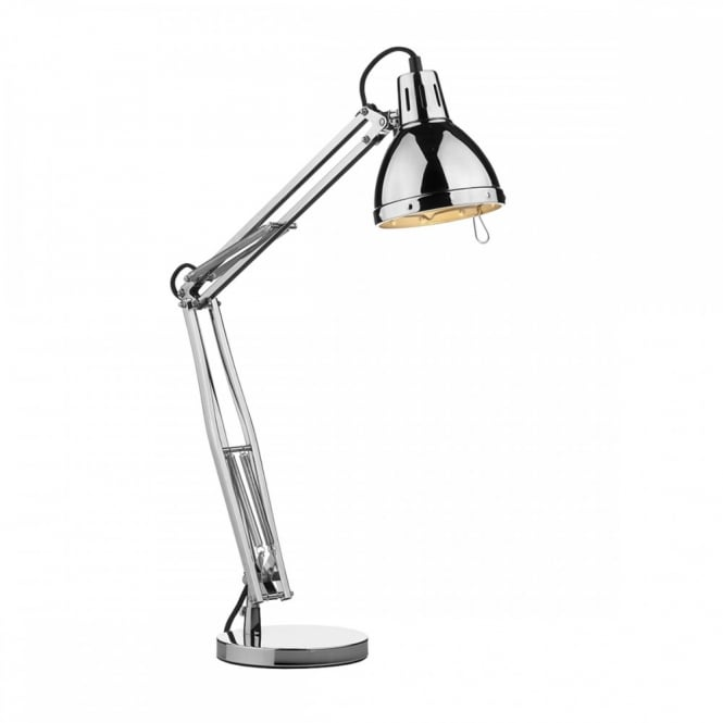 adjustable desk lamp. Retro Angle Adjustable Desk Lamp In Polished Chrome