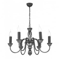 OXFORD antique pewter ceiling light