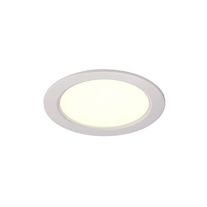 Small Decorative Spotlight: Contemporary White LED Recessed Ceiling Spotlight