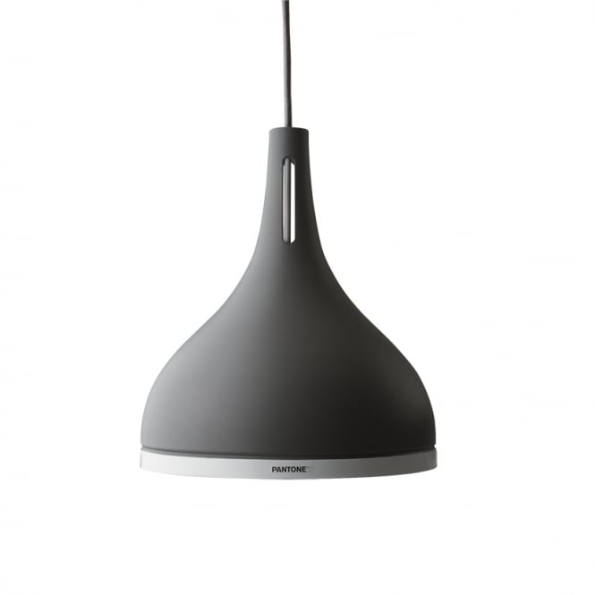 Pantone CASTOR 25 ceiling pendant light in a pewter finish