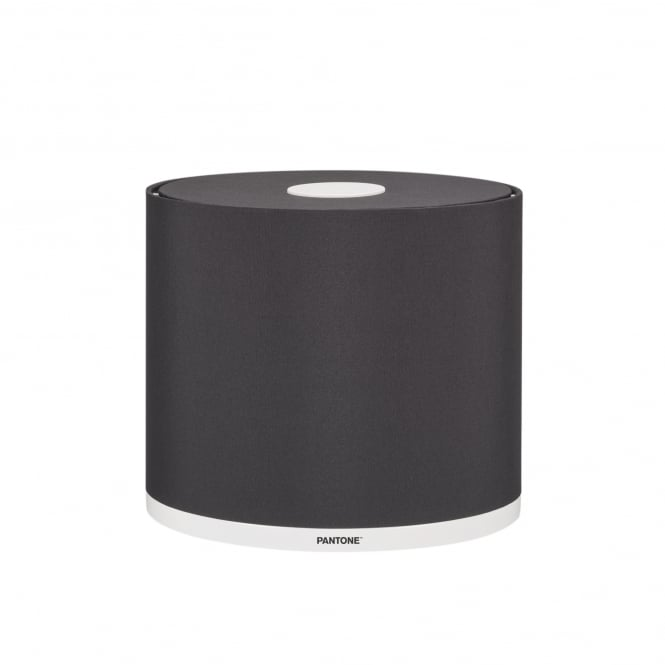 Pantone MINTAKA 25 modern lamp shade in black beauty finish
