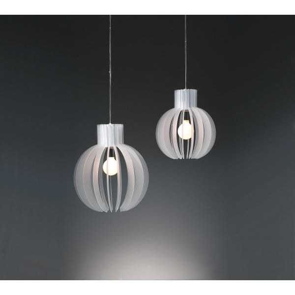 Papalla Large White Ceiling Pendant Light For High Vaulted