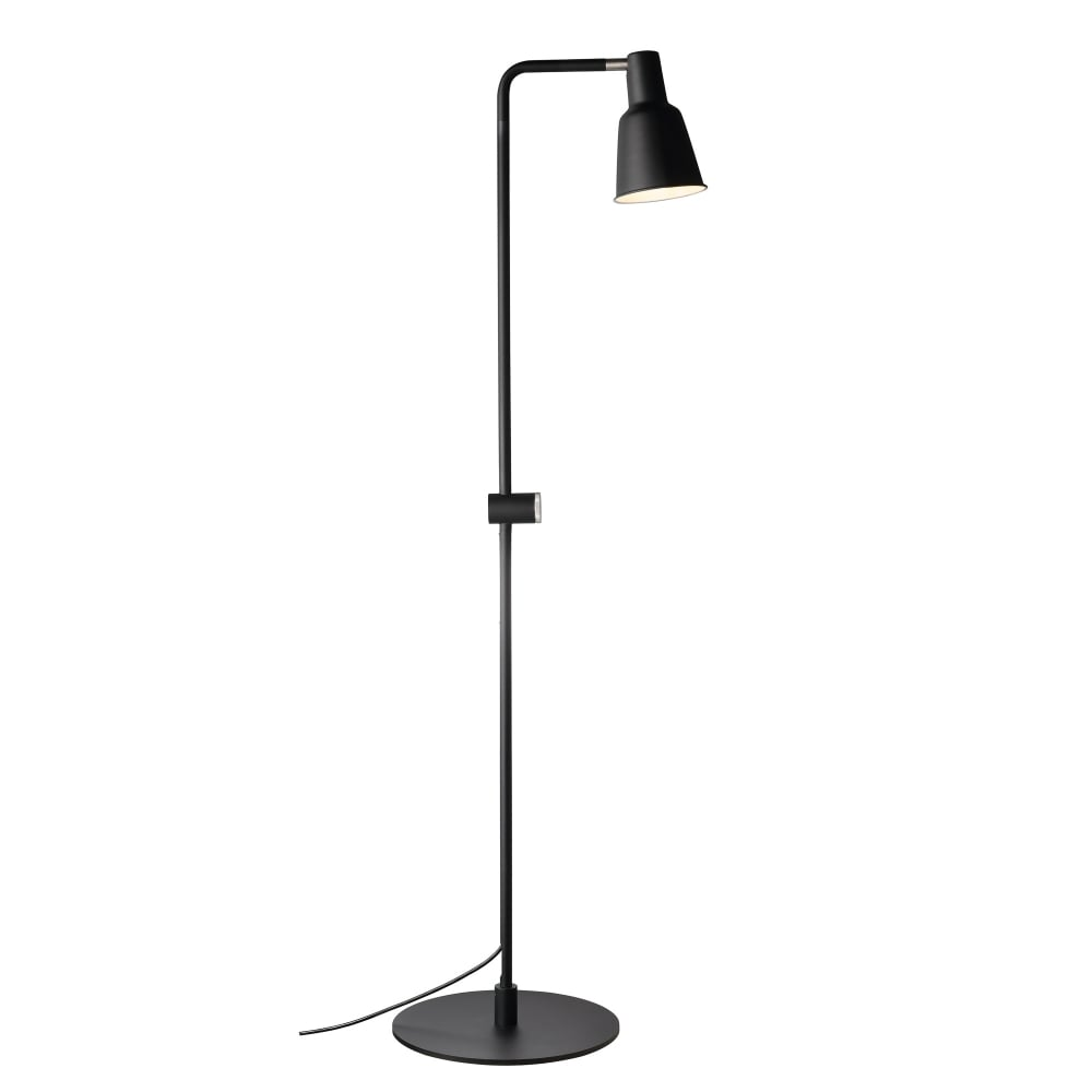 Contemporary Black Dimmable Floor Lamp