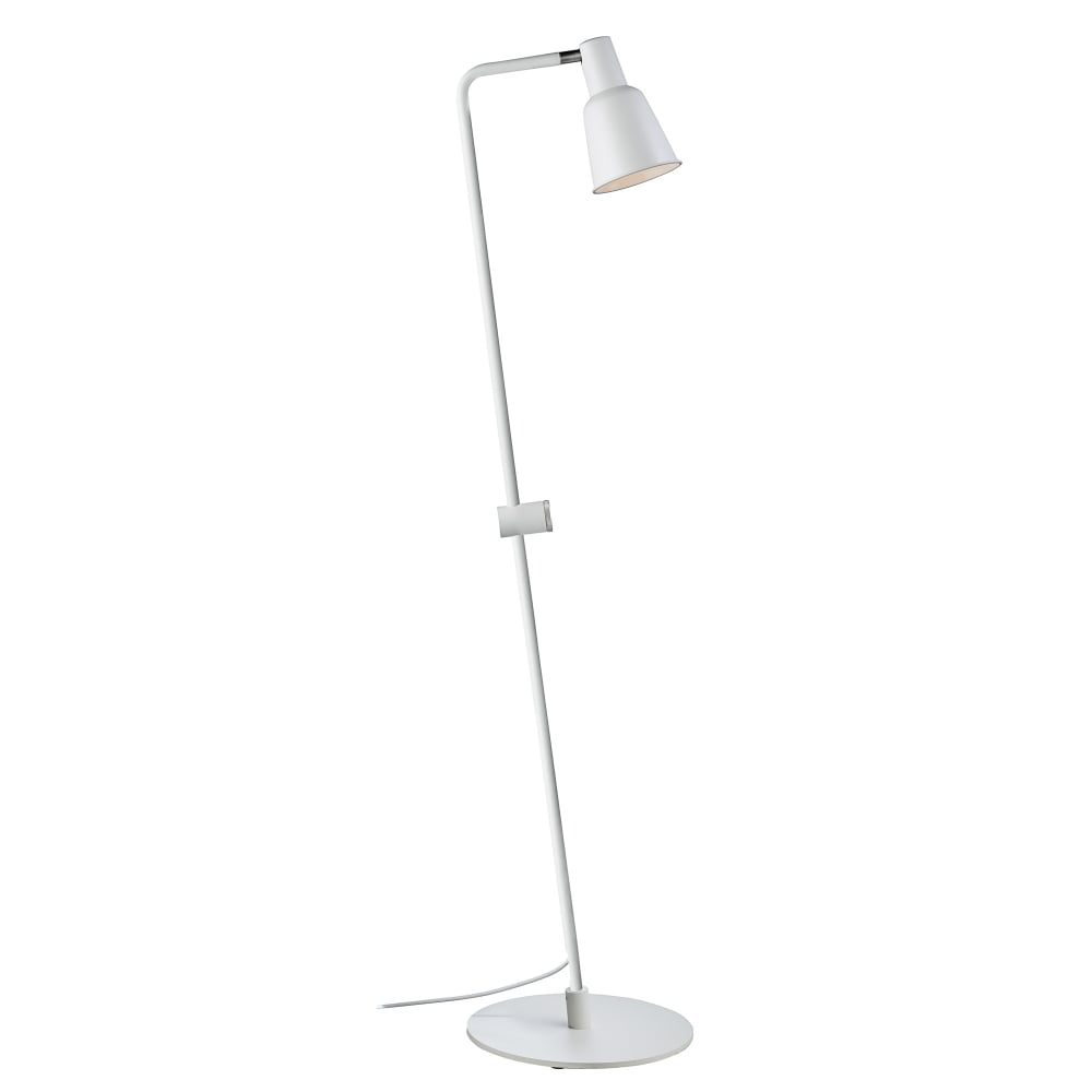 Contemporary white dimmable floor lamp aloadofball Image collections