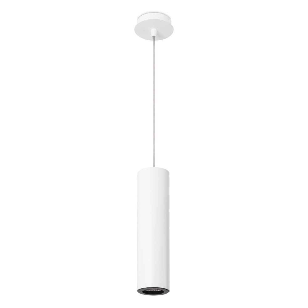 modern pipe cylindrical with ceiling light white black matte image pendant detail contemporary